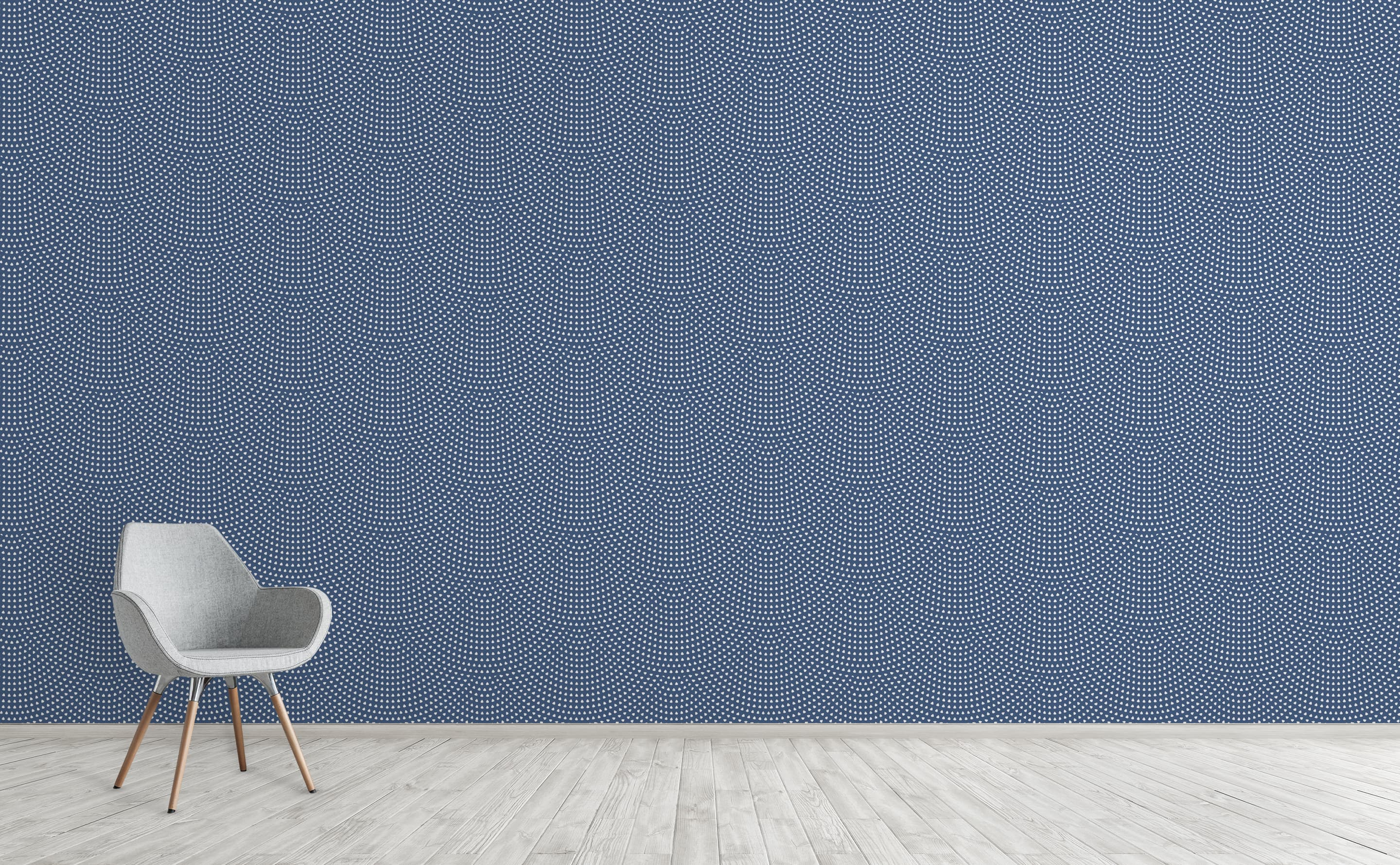 Exude Feelings Of Tranquility With Blue Wallpaper Collection