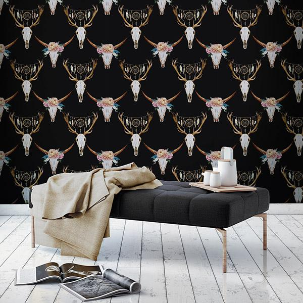 Bohemian Wallpapers Peel and Stick Removable