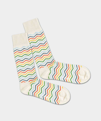 DillySocks Square Rainbow