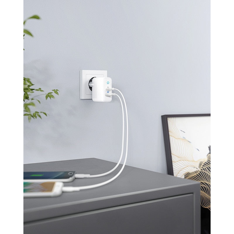 2-Port USB C Type C Wall Charger