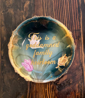 This is a goddamned family heirloom | vulgar vintage 6 in candy dish