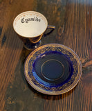Cyanide | vulgar vintage tea cup and saucer