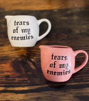tears of my enemies | Vulgar vintage style creamer