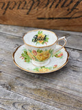Bitch Vulgar vintage Royal Albert Tea Rose
