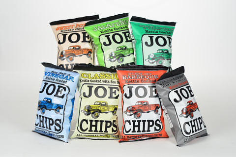 Joe Chips  Kettle Cooked Potato Chips 2 oz
