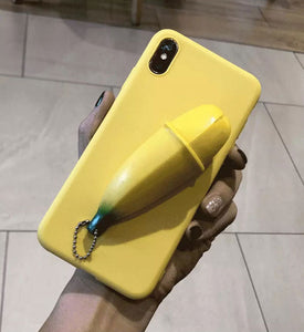 Unzip Banana iPhone Cases