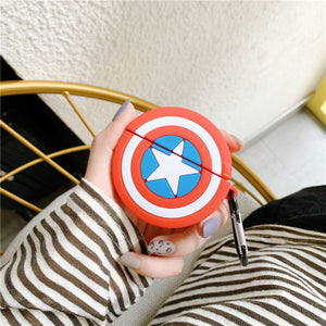 Captain America Shield AirPods Case - swagmesecret