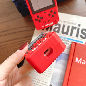 Red Gameboy AirPods Case (1/2/Pro)