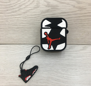Air Jordan White AirPods Case (1/2/Pro) - swagmesecret