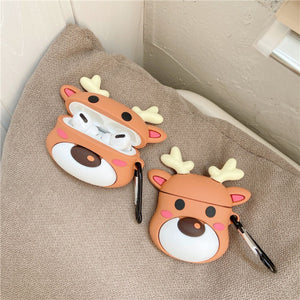 Christmas Cute Elk AirPods Case (1/2/Pro)