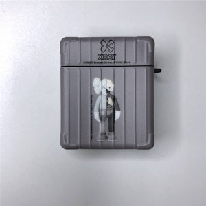 Kaws AirPods Case (Grey /Light Brown) - swagmesecret