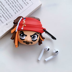Captain Jack Sparrow 'Comic' AirPods Case - swagmesecret