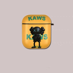 Silicone Kaws (yellow/black) AirPods Case