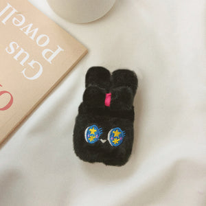 Plush Cute Bunny AirPods Case (1/2/Pro)