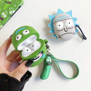 Rick and Morty Cucumber AirPods Case - swagmesecret