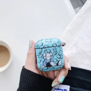 Blue KAWS Holiday Sit AirPods Case (1/2/Pro)