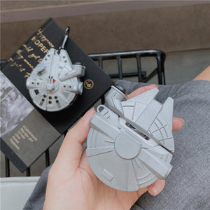 Star Wars Falcon Spaceship AirPods Case (1/2/Pro)