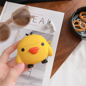 Yellow Duck AirPods Case (1/2/Pro)