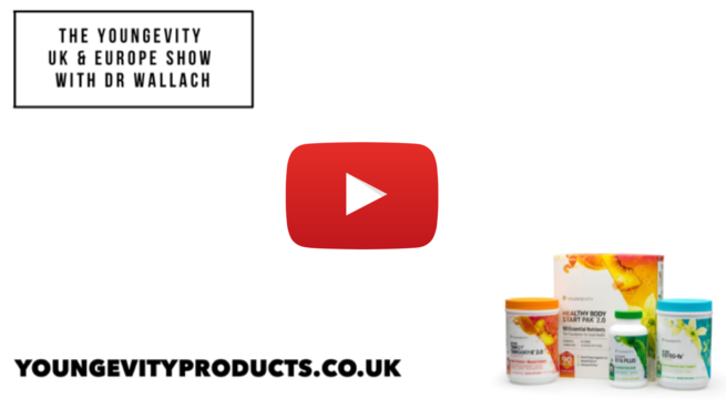 The Youngevity UK & Europe Show with Dr. Wallach - Gut Health