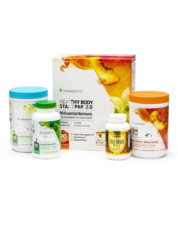 Broad spectrum foundation nutrition plus powerful antioxidants to support anti-aging. Each pack provides broad spectrum foundation nutrition and includes BTT 2.0 Citrus Peach Fusion - 450g canister (1); EFA PLUS - 90 soft gels (1); Beyond Osteo-fx powder - 357g canister (1); and Cell Shield RTQ - 60 capsules.