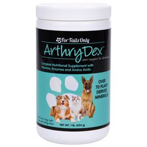 ArthryDex™ is a complete nutritional supplement with vitamins amino acids and enzymes formulated to support healthy bones and joints in small and large animals.