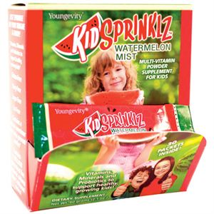 KidSprinklz Watermelon Mist – Multi-Vitamin Powder (30 Sachets)