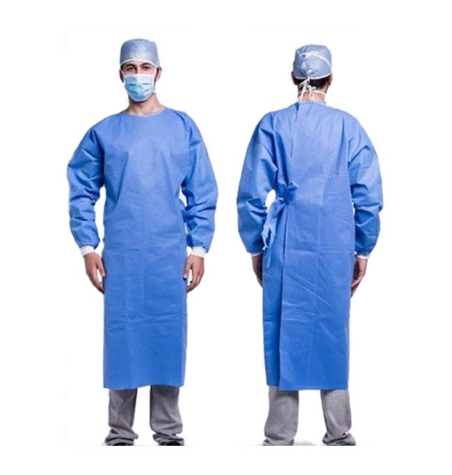 Disposable Isolation Gown Level 2 Reinforced - Pack of 10