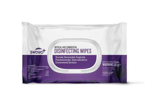 EPA Disinfecting Wipes (50 sheets) - Case of 12 Packs