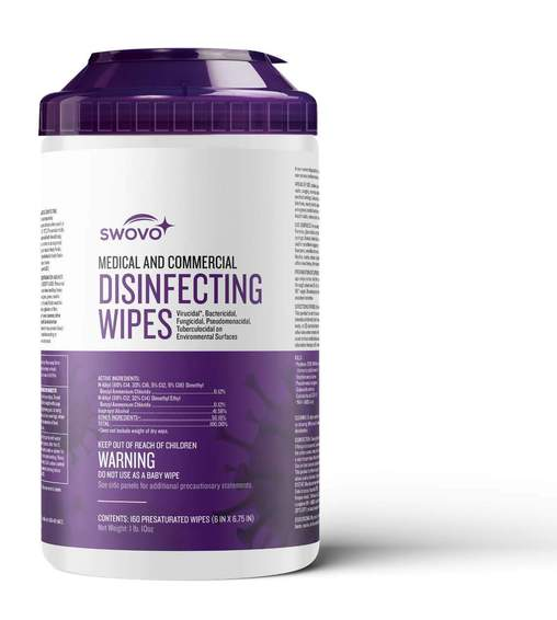 EPA Disinfecting Wipes (160 sheets) - Case of 6 Cans