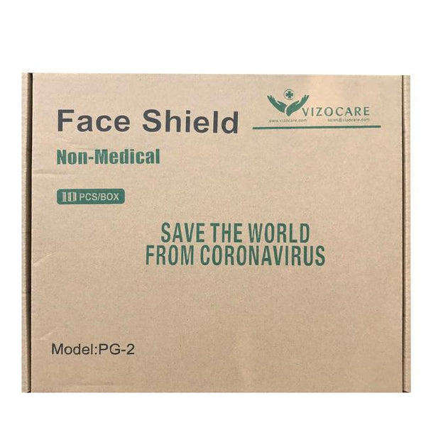 Face Shield (PG-2) Medical & Protective Googles Vizocom