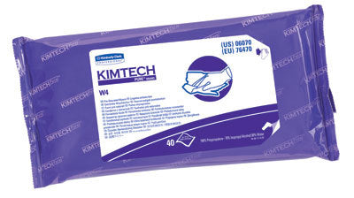 Kimberly-Clark Kimtech Pure Wipers ISO 4
