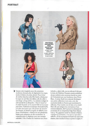 Press - Grazia - article 02