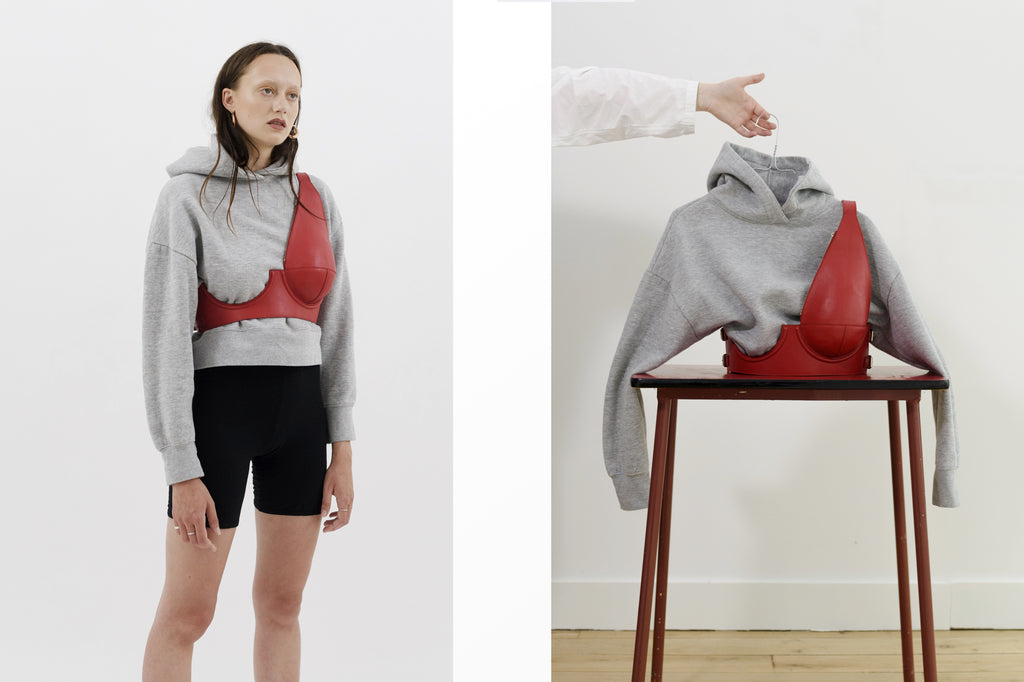 Serie 1 Chestbag Red - Sarah Levy