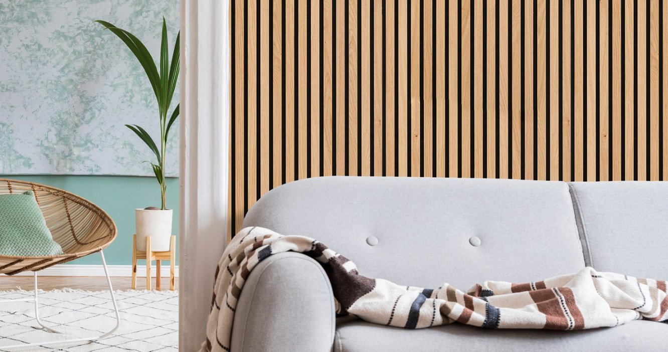 Slat Panel – so much more than wooden wall paneling…