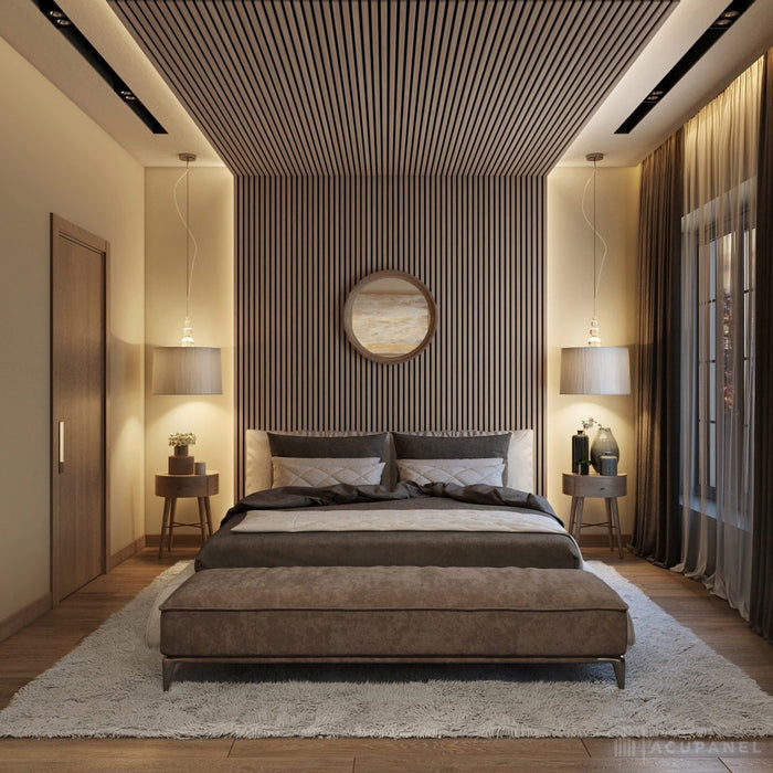 Ceiling panel ideas using wood