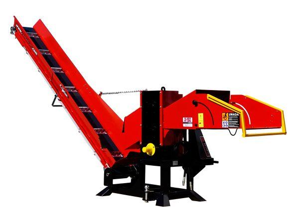 R-150 Standard Duty Wood Chunker with Conveyor