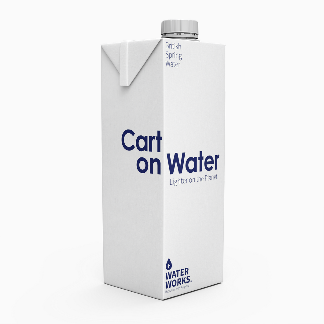 Carton Water Still - 1Ltr x 48 (£1.15/unit) FREE DELIVERY