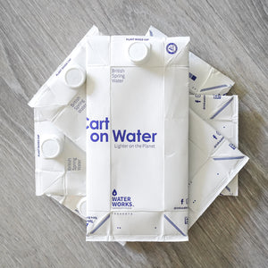 Carton Still Water 1Ltr x 24 (£1.29/unit) FREE DELIVERY