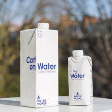Load image into Gallery viewer, Carton Water Still - 330ml x 48 (69p/unit) FREE DELIVERY
