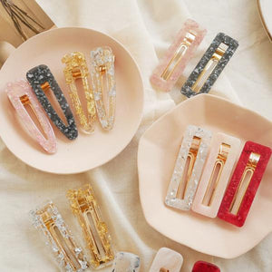 Crystal Resin Hair Pin DIY Kit