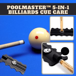 [PROMO 30% OFF] PoolMaster™ 5-in-1 Billiards Cue Care