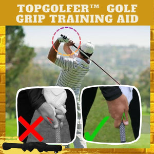 TopGolfer™ Golf Grip Training Aid