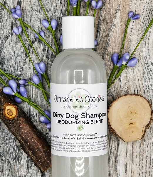 Dirty Dog Liquid Shampoo / Clean Rinsing with Luxurious Lather / 2 oz. Bottle