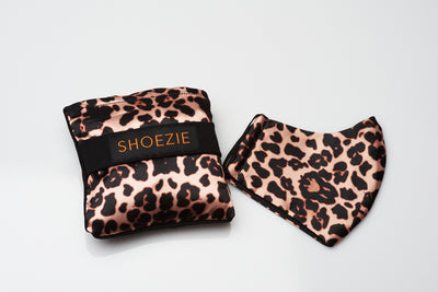 Shoezie and Mask Gift Pack - Leopard Print