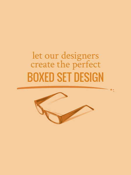 Let our designers create the perfect boxed set design