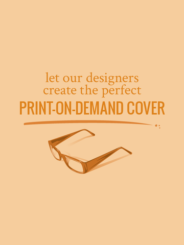 Let our designers create the perfect print on demand cover