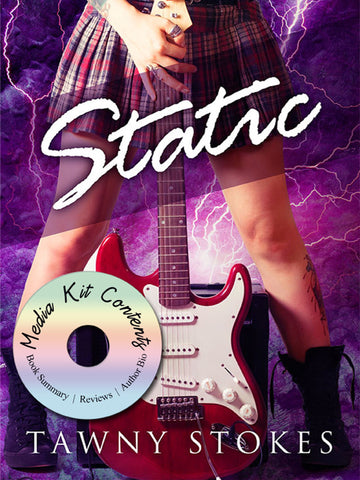 New book release media kit for Tawny Stokes