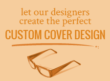 Let our designers create the perfect custom cover design