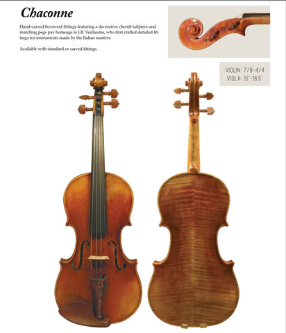 Maple Leaf 4/4 Violin - Chaconne (Chateau Vert) MLS500VN4/4