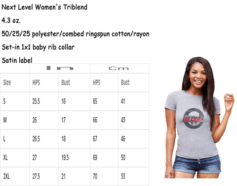 racing is in my blood t-shirts sizing chart